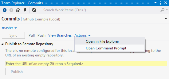 Accessing Github Command Prompt