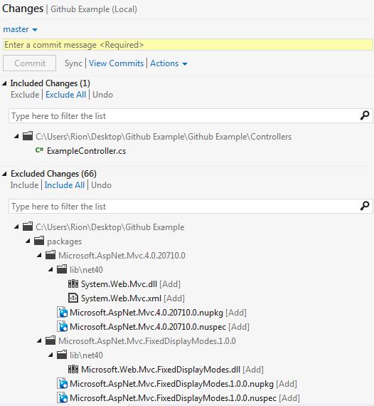 Git Commit Message