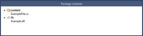 PackageContent